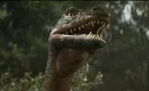 Легенда о динозавре, кадр из фильма