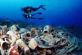 Клады на дне моря