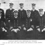 """Капитан Смит и офицеры, """"Титаник"""""""