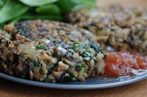 Соевые продукты с овощами, крупами