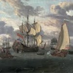 Фрегаты идут к флибустьерам, русские фрегаты
