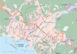 На рейде Туапсе, карта