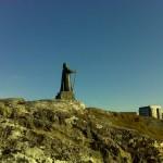 Памятник пастору Хансу Эгде на Гренландии