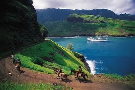 В дальних плаваниях. Маркизские острова