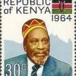 Первый президент Кении Джомо Кениатт