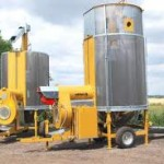 Передвижные итальянские зерносушилки Mecmar