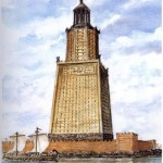 Фаросский маяк в Александрийском порту