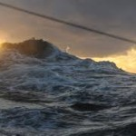 Гибель корабля в океане