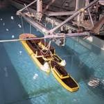 Опытовый бассейн для испытания моделей кораблей