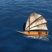 Испытания моделей кораблей
