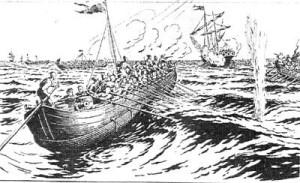 На чем плавали запорожцы