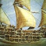 Крепости под парусами - галион