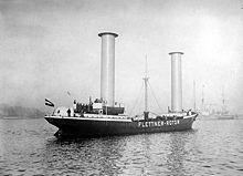 Роторное судно