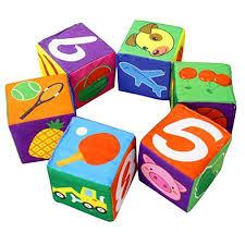 Мягкие кубики, лучшая игрушка для самых маленьких