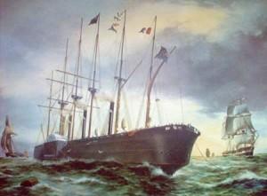 парусно-колесно-винтовой пароход «Грейт Истерн»