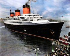 Трансатлантические лайнеры