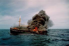SOS сигнал бедствия, суда терпящие бедствие