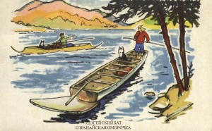 Бат - лодка удэгейцев и орочей